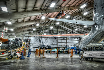 A view of the Civilian Exhibit Hangar