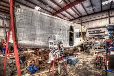 Burnelli CBY-3 'Loadmaster' Restoration