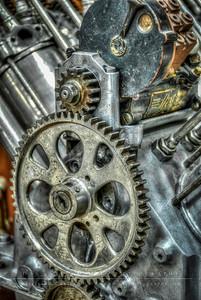 Hall-Scott A2 Aircraft Engine, 1910