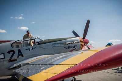 "North American P-51C Mustang ""Tuskegee Airmen"""