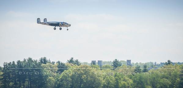 """Boeing B-25 Mitchell """"Miss Hap"""""""