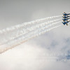 Blue Angels Aerobatic Flight Team's F/A-18 Hornets