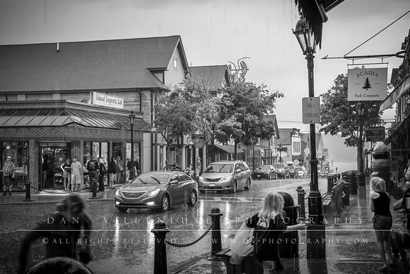 Downpour in Bar Harbor