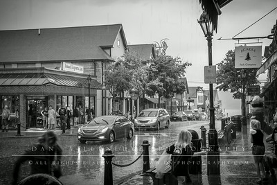 Downpour in Bar Harbor