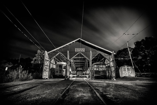 2017 CT Trolley Museum Evening Photoshoot