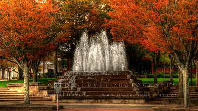 Fountain at Spear Park