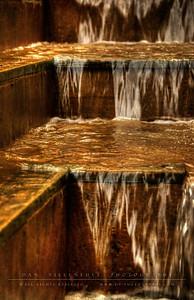 Fountain steps
