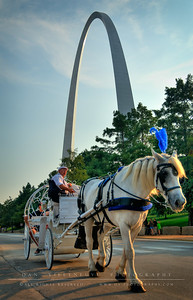Horse drawn carriage rides are popular in this area and a great way to see the waterfront,