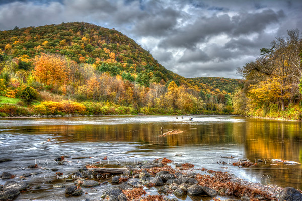 Fly fishing on the Housatonic River