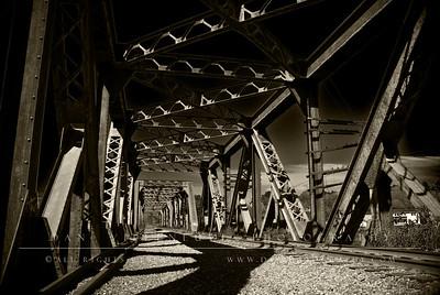 Train Trestle  Goffs Falls Bedford, NH
