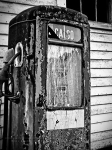 Retired pump  Villeneuve Farm, Bedford, NH
