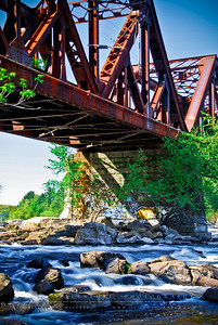 Train Trestle  Goffs Falls Bedford, NH