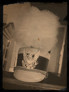 Marching band hat Opera House Cafe (Sesser, Illinois)  Little Photo