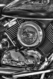 """Jack Daniels themed Yamaha Star"" Nathan Hale Homestead, Coventry, CT"