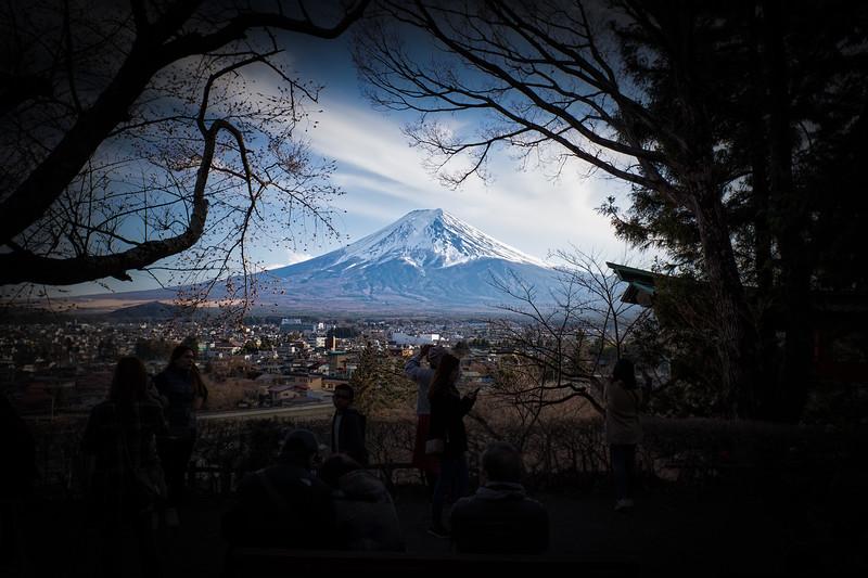 View of Fuji