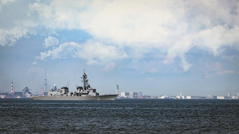 JMSDF Destroyer