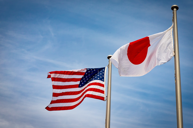 American Japanese Flags 3