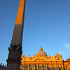 First Sun on St. Peter's