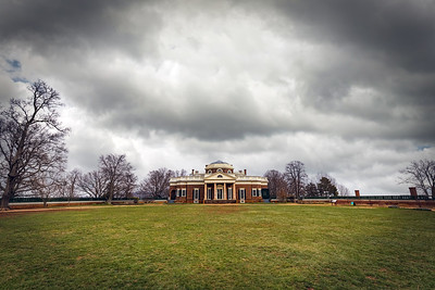 Clouds over Monticello