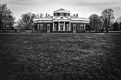 Monticello in March