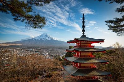 Chureito Pagoda 3