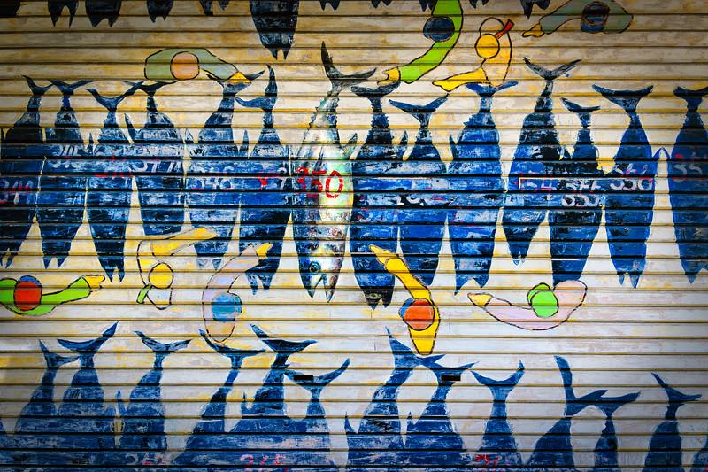 Fish Market Door