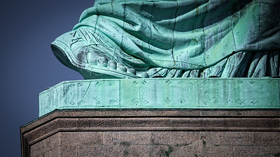 Foot of Liberty