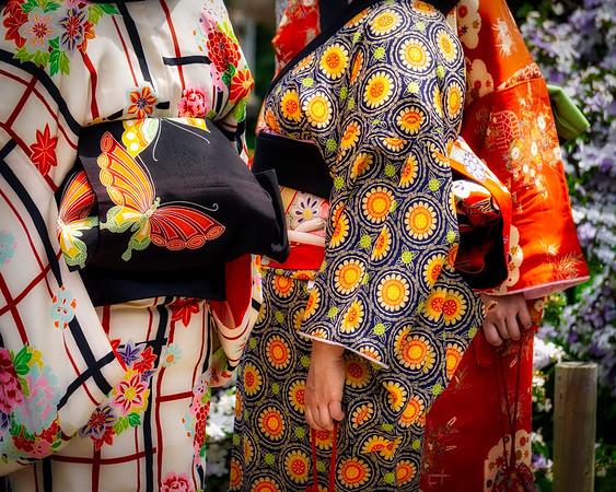 Three Kimonos