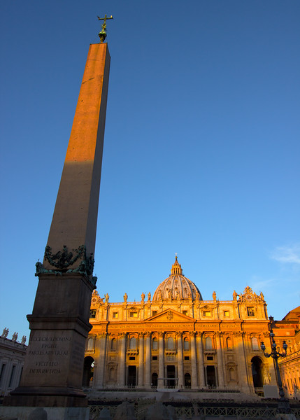 First Sun on St. Peter's