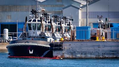 Docked Tugs