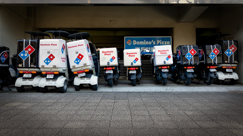 Delivery Scooters