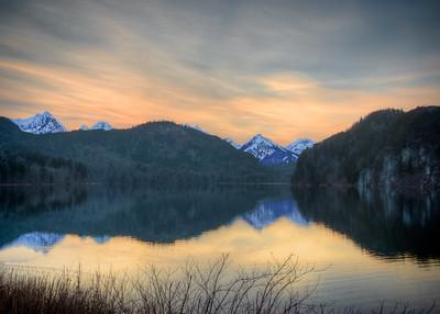 Lake at Hohenschwangau