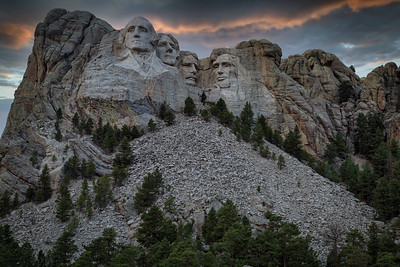 Evening at Rushmore