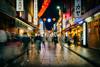 Walking in Chinatown