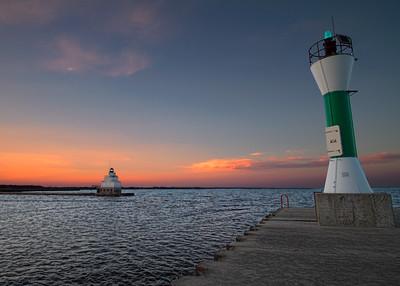 South Pier Sunset