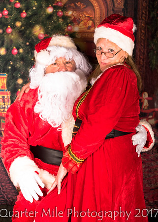 Mr. and Mrs. Santa Claus