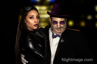 Penguin and Catwoman