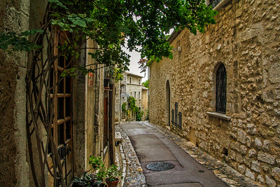 Walkway St. Paul de Vence, France