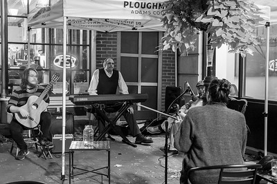 October 4, 2020: Dr. Jazz Jam at Ploughman Cider Taproom by  Hannah Bingaman
