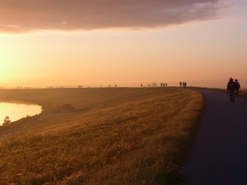 Sunrise at the Big O Hike <br /> PHOTO by Winnie Lo