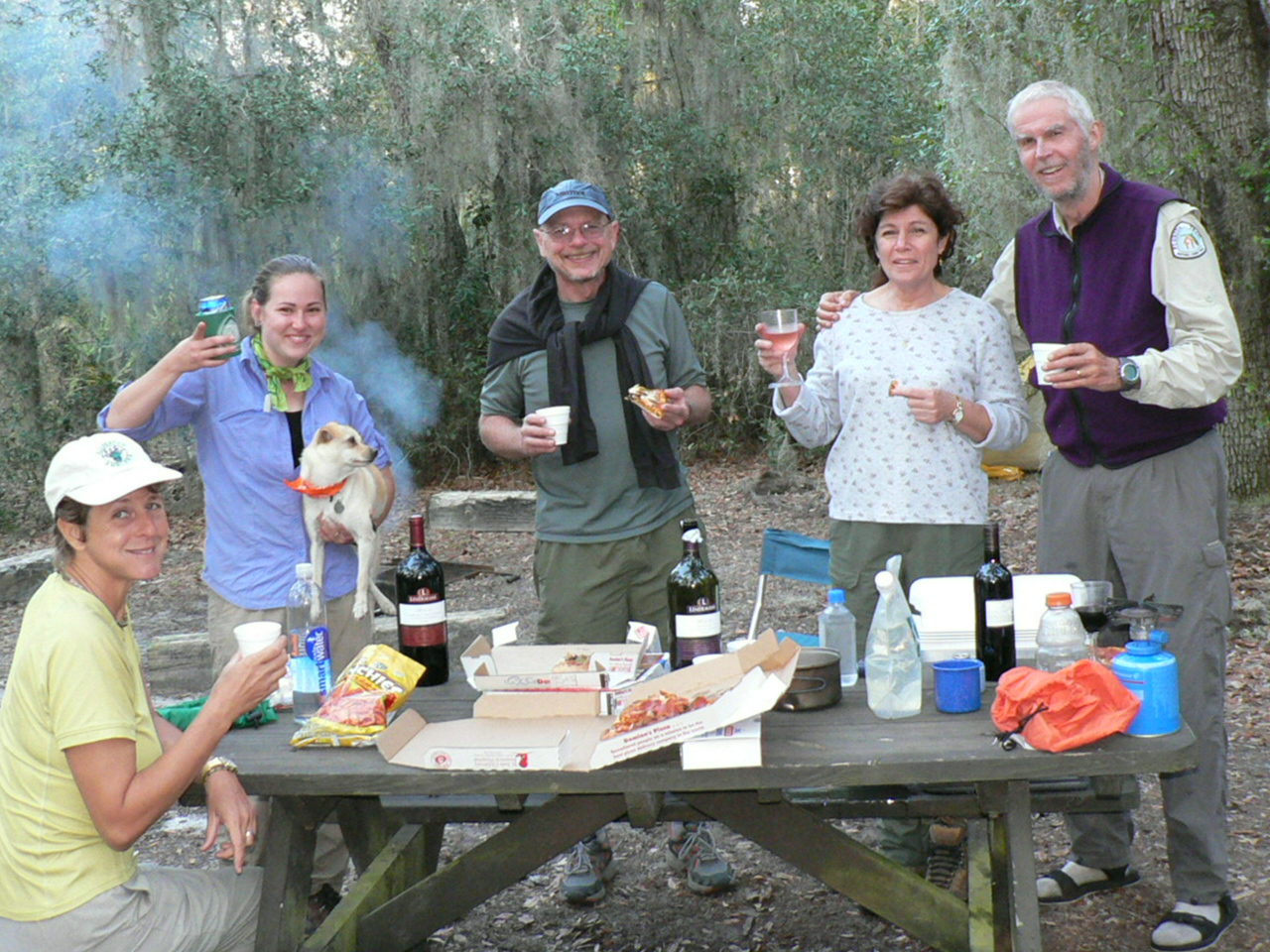 Goldhead Pizza Party 2, Goldhead Branch State Park <br /> PHOTO by George Meek