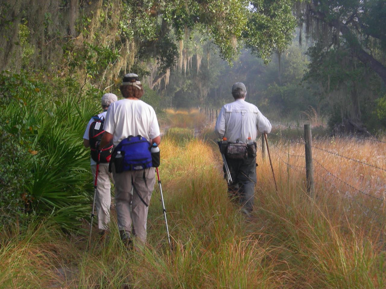 Morning hike, Fisheating Creek<br /> Photo by Winnie Lo