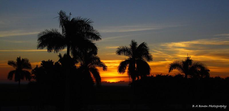 Sunrise from Paul Rardin Park, BIG O Hike<br /> Photo by Barbara Bowen