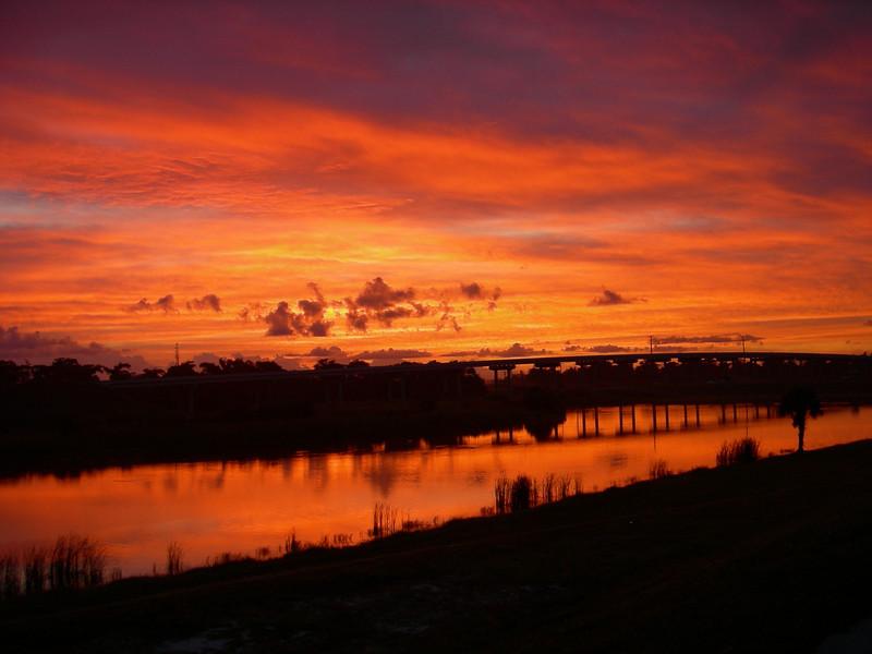Sunrise at Port Mayaca<br /> Photo by Winnie Lo