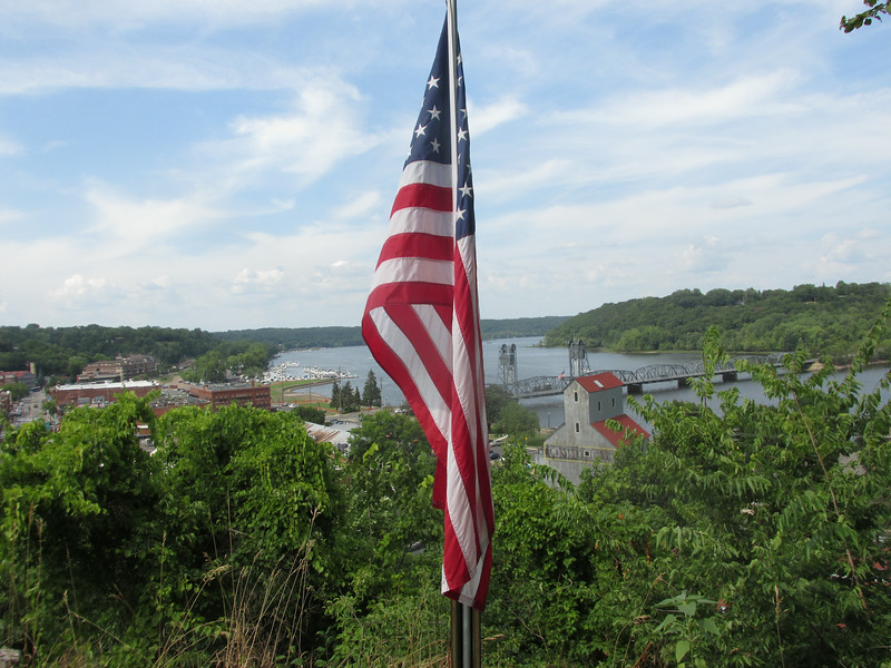 Stillwater with Flag
