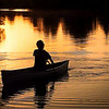 Sunset Paddler (First Place Winner: Adult People)