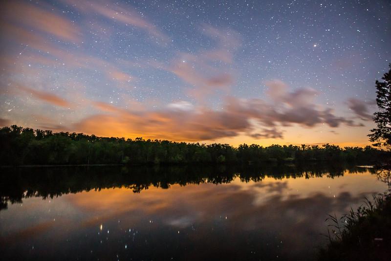 Starlit River (First Place Winner: Adult Landscape)