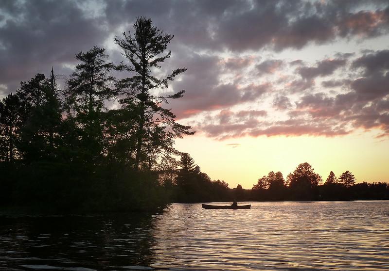 Hayward Lake Sunset Paddle