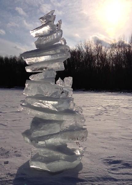 St. Croix Ice Cairn