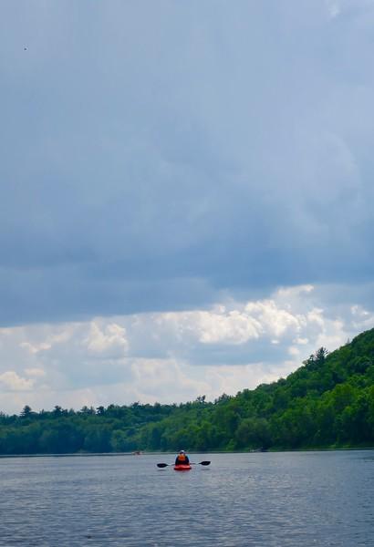 Thundercloud and Kayak